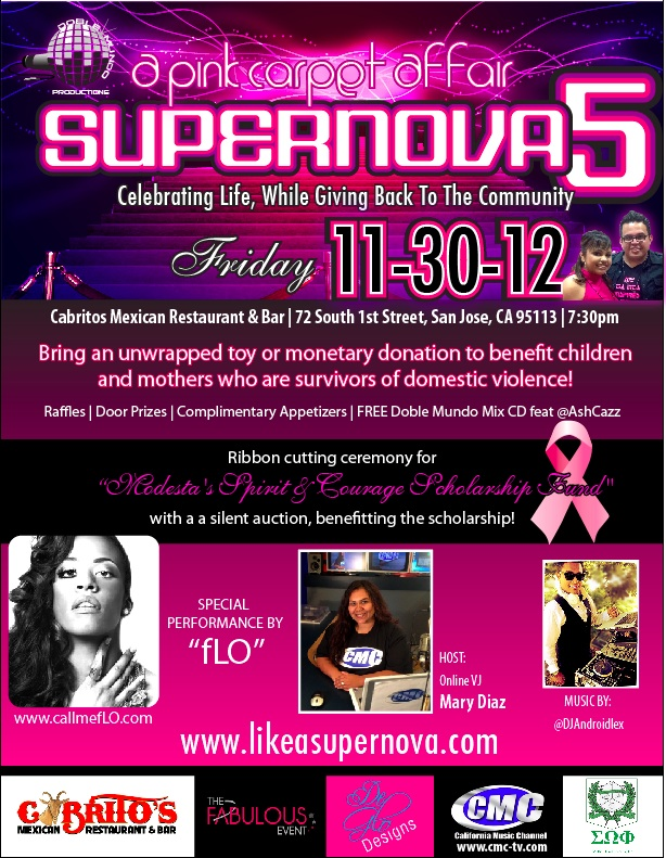 Supernova 5- Celebrating Life, While Giving Back To The Community INVITE