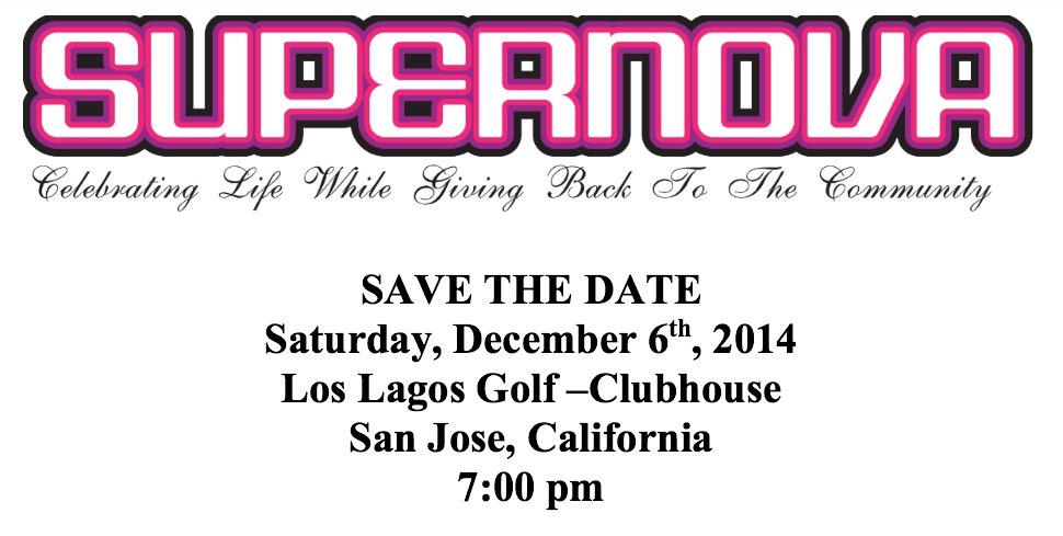 SAVE THE DATE- Saturday, December 6th, 2014