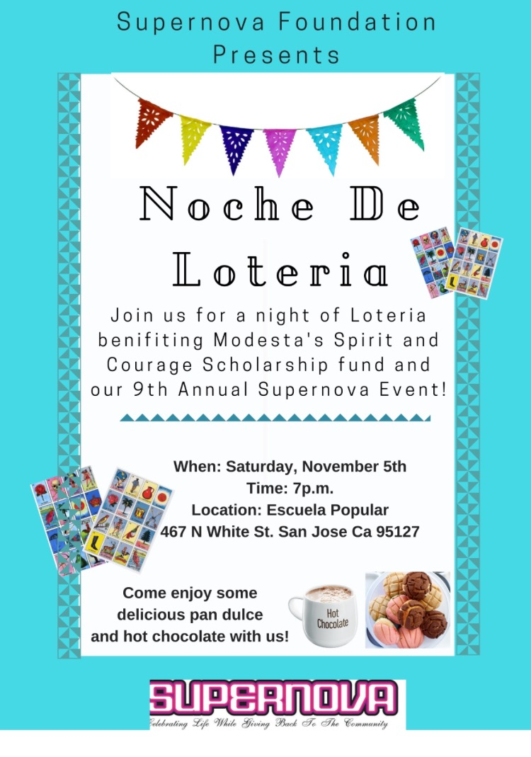 3rd Annual Loteria Night- Please join us!