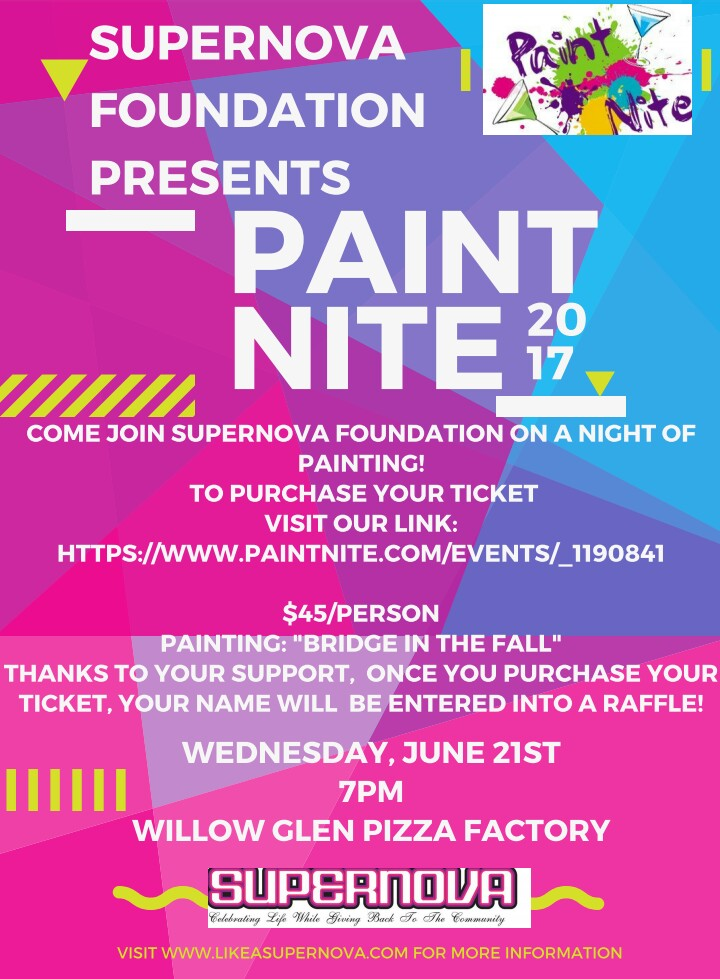 PAINT NIGHT with the Supernova Foundation!