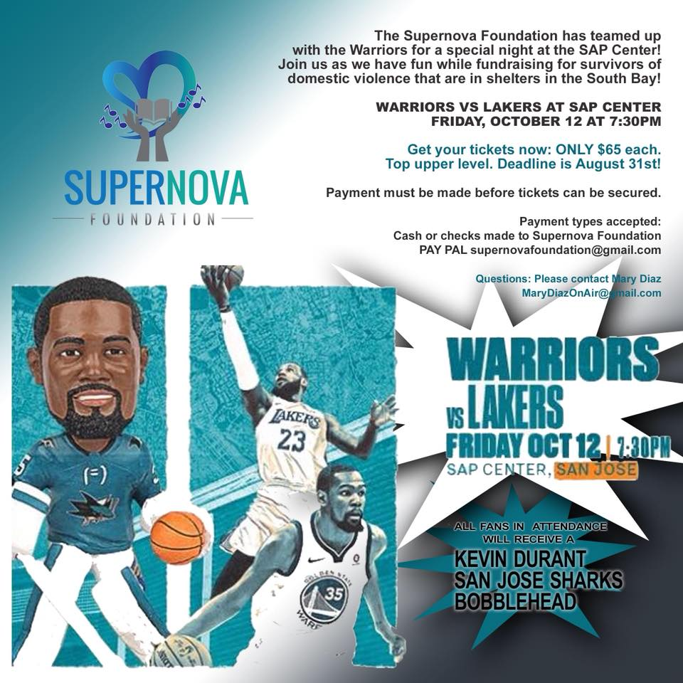Warriors Fundraiser at SAP Center