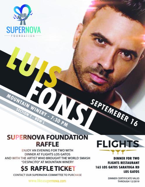 Luis Fonsi Concert Raffle