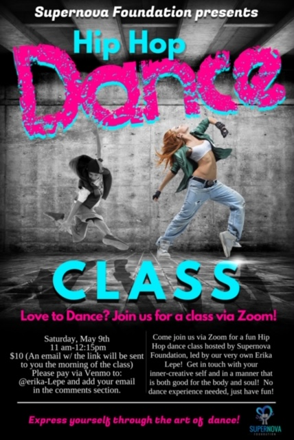 Virtual Hip Hop Dance Class