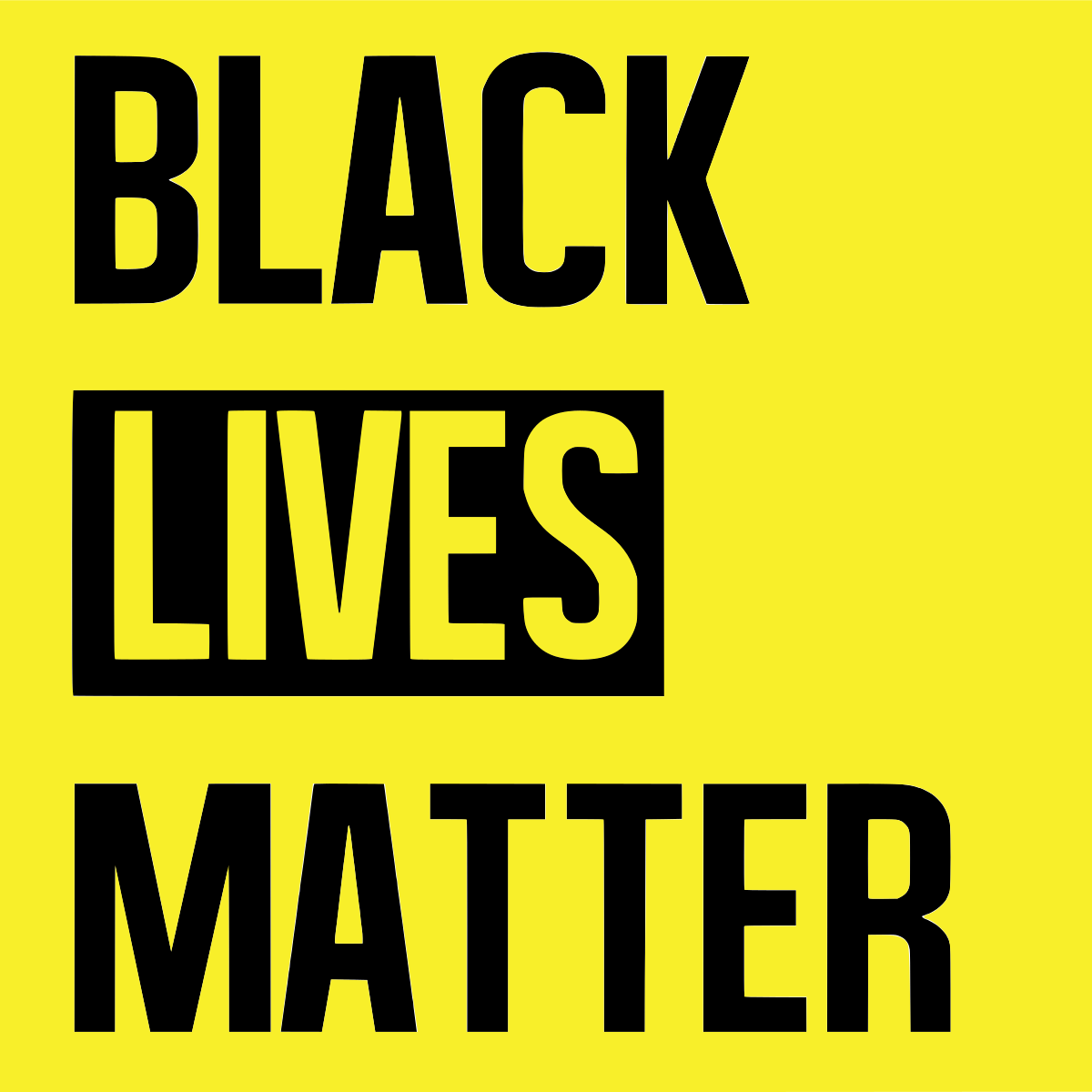 "Statement on ""Black Lives Matter"" Movement"